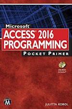 Microsoft Access 2016 Programming Pocket Primer (Pocket Primer)