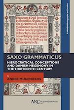 Saxo Grammaticus (Carmen Monographs and Studies)