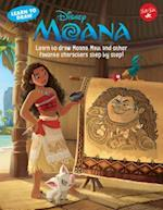 Learn to Draw Disney's Moana (Learn to Draw Favorite Characters)