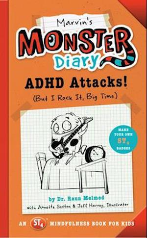 Bog, paperback Marvin's Monster Diary af Raun Melmed