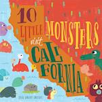 10 Little Monsters Visit California (10 Little Monsters, nr. 4)