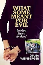 WHAT SOME MEANT FOR EVIL: But God Meant for Good