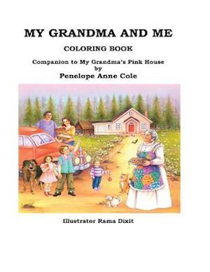 Bog, paperback My Grandma and Me Coloring Book af Penelope Anne Cole