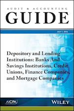 Audit and Accounting Guide Depository and Lending Institutions af Aicpa