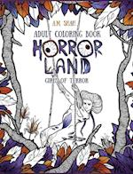 Adult Coloring Book: Horror Land Girls of Terror (Book 2) af A.M. Shah