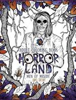 Adult Coloring Book: Horror Land Men of Misery (Book 3) af A.M. Shah