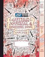 Guitar Journal and Homework Book (Red)