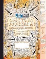 Guitar Journal and Homework Book (Orange)