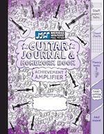 Guitar Journal and Homework Book (Purple)