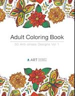 Adult Coloring Book af Art Therapy Coloring