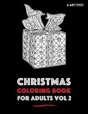 Bog, paperback Christmas Coloring Book for Adults Vol 2 af Art Therapy Coloring
