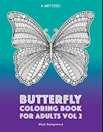 Butterfly Coloring Book for Adults Vol 2