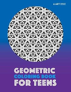 Bog, paperback Geometric Coloring Book for Teens af Art Therapy Coloring