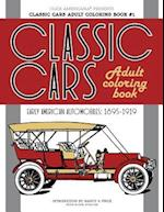 Classic Cars Adult Coloring Book #1