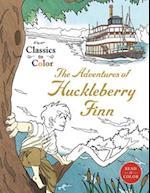 Adventures of Huckleberry Finn (Classics to Color)