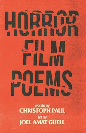 Bog, paperback Horror Film Poems af Christoph Paul