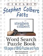 Circle It, Stephen Colbert Facts, Word Search, Puzzle Book