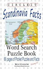 Circle It, Scandinavia Facts, Word Search, Puzzle Book