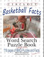 Circle It, Basketball Facts, Word Search, Puzzle Book