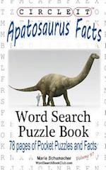 Circle It, Apatosaurus Facts, Word Search, Puzzle Book