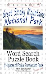 Circle It, Great Smoky Mountains National Park Facts, Pocket Size, Word Search, Puzzle Book