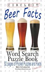 Circle It, Beer Facts, Word Search, Puzzle Book