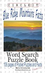 Circle It, Blue Ridge Mountains Facts, Word Search, Puzzle Book