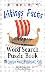 Circle It, Vikings Facts, Word Search, Puzzle Book