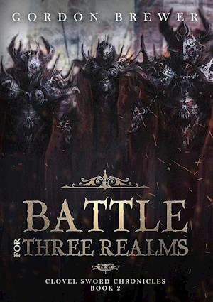 Bog, paperback Battle for Three Realms af Gordon Brewer