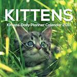 Kittens Daily Planner Calendar 2017