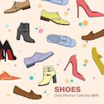 Shoes Daily Planner Calendar 2017