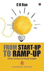 From Start-Up to Ramp-Up af C. B. Rao