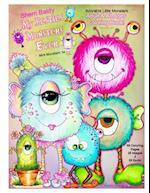 Sherri Baldy My Besties Monsters Ever Mini Monsters TM Coloring Book