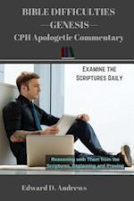 Bible Difficulties Genesis