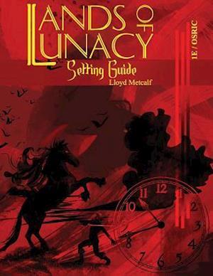 Bog, paperback Lands of Lunacy af Lloyd Metcalf