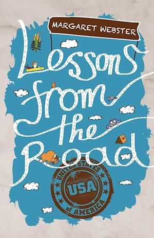 Bog, hæftet Lessons from the Road: USA af Margaret Webster