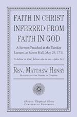 Faith in Christ Inferred from Faith in God