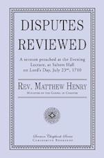 Disputes Reviewed