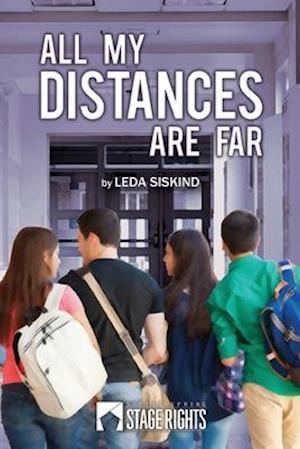 Bog, paperback All My Distances Are Far af Leda Siskind