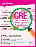 GRE Text Completion and Sentence Equivalence Practice Questions