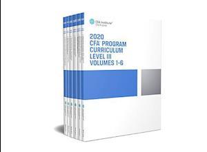 CFA Program Curriculum 2020 Level III, Volumes 1 - 6