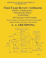 Final Exam Review