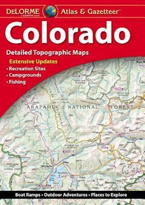 Delorme Colorado Atlas & Gazetteer 12e