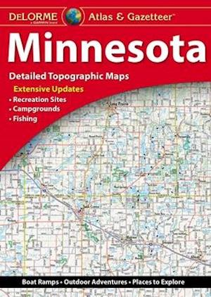 Delorme Minnesota Atlas & Gazetteer