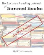 No Excuses Reading Journal for Banned Books