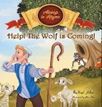 Help! The Wolf Is Coming!: CHILDREN BEDTIME STORY PICTURE BOOK