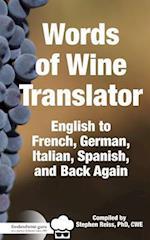 Food & Wine Guru's Words of Wine Translator