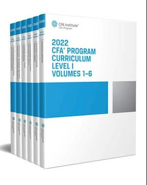 2022 CFA Program Curriculum Level I Box Set