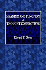 Meaning and Function of Thought-Connectives
