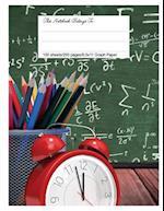 Graph Paper Workbook, 5x5 Graph Ruled Paper, 8.5.X 11, Math Art